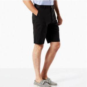 Nwt Dockers Big & Tall Perfect Twill Shorts Black